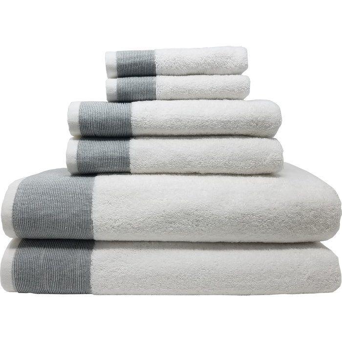 Claudine 6 Piece Turkish Cotton Towel Set With Images Turkish