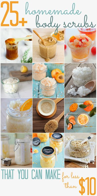 25+ homemade Body Scrubs