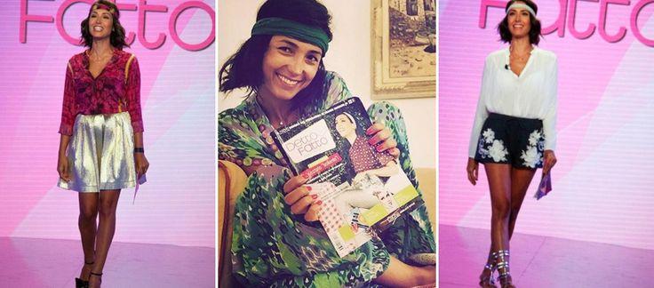 Caterina Balivo: da donna #chic e #bonton a #hippy! Svolta per la conduttrice di Detto Fatto! #GossipVip #look