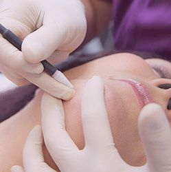 Electrolysis is a method of removing individual hairs from the face or body. It is currently the only FDA-approved method for permanent hair removal.