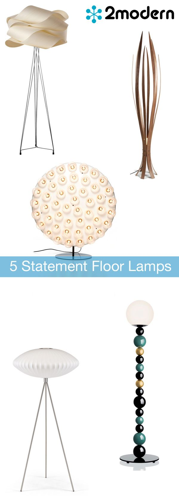 providing nuanced at night these dazzling modern floor lamps are major design statements even