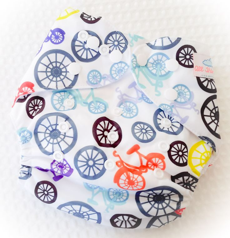 Bicycles One Size Pocket Diaper