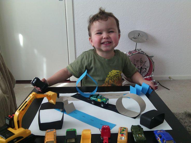 Busy Ben Boy! Paper toy