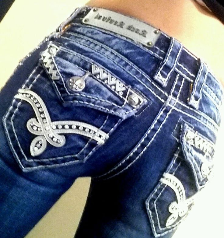"""Love these ♡ Womens Rock Revival """"Elaina"""" boot cut, cotton blend jeans Size 24 in.x 29 inseam #RockRevival #BootCut"""