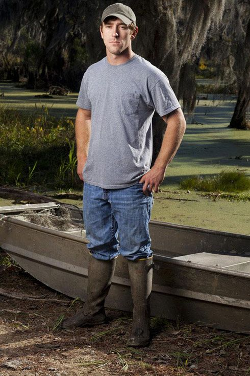 Chase Landry from Swamp People! One of the main reasons I watch :) @Jennifer Enocksen