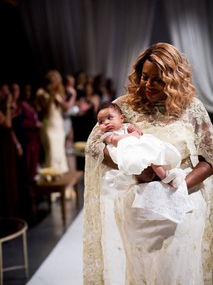Tennis Star Serena williams married Reddit Co founder Alexis ohanian on 16th november 2017 in front of family and friends.The wedding, held at the Contemporary Arts Center in New Orleans.Serena williams looked stunning in a Sarah Burton for Alexander McQueen wedding dress while Alexis looked like prince in regal blazer. Bride serena later changed into a shorter dress for the reception and teamed it with some sparkly sneakers.Cute baby is venus william two months old daughter is with her…