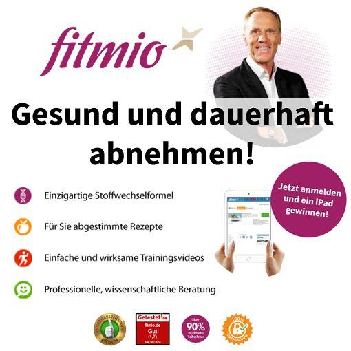 Jetzt kostenlose, wertvolle Tipps und Rezepte zum Abnehmen mit der Stoffwechselformel von Prof. Ingo Froböse erhalten und ein iPad gewinnen!