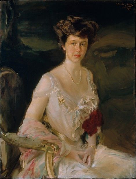 Joaquín Sorolla y Bastida, Mrs. Winthrop W. Aldrich (Harriet Alexander) on ArtStack #joaquin-sorolla-y-bastida #art