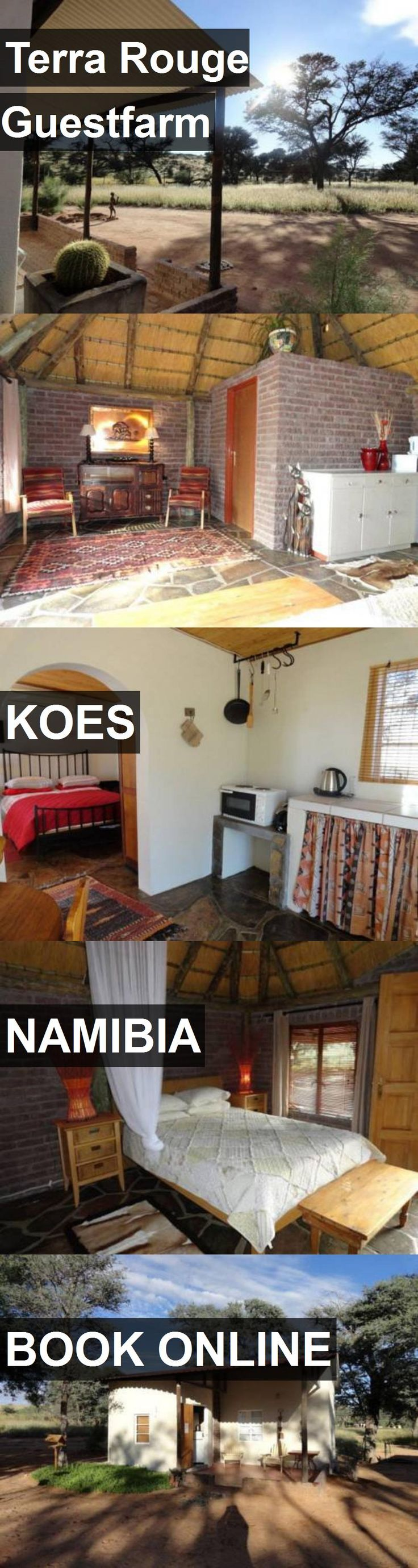 Hotel Terra Rouge Guestfarm in Koes, Namibia. For more information, photos, reviews and best prices please follow the link. #Namibia #Koes #travel #vacation #hotel