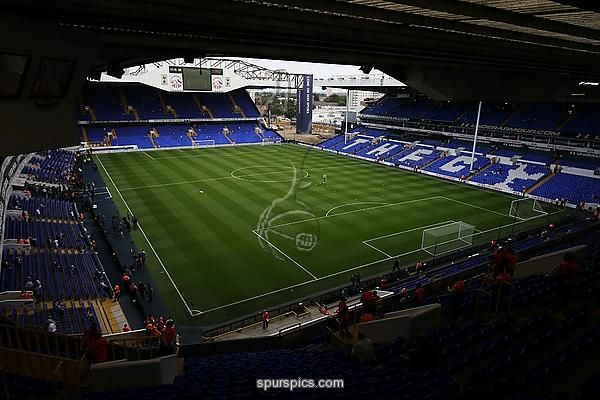 A general view shows part of the North stand of White Hart Lane which has been demolished to allow for the construction of Tottenham Hotspur's new stadium on the same site in London, on August 27, 2016