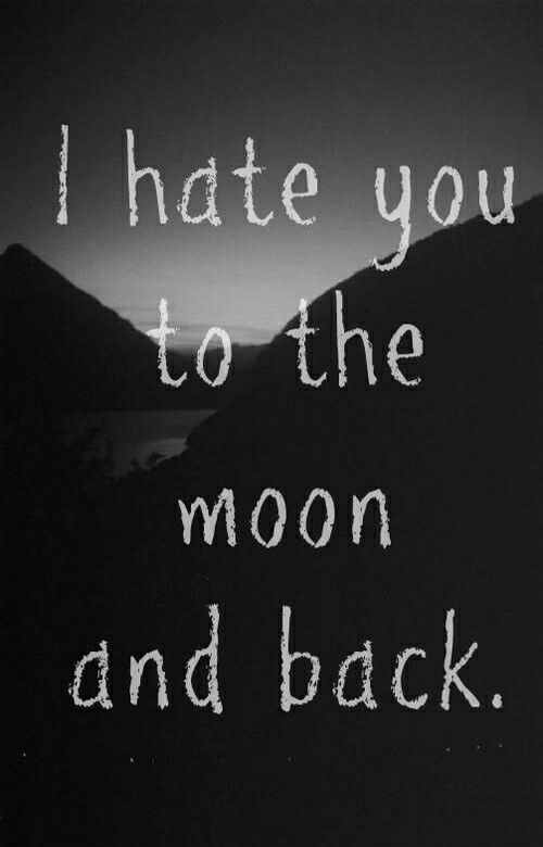 I Hate You Wallpaper From Teenager Wallpaper App Quotes