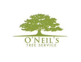 O'Neil's Tree Service logo design - 48HoursLogo.com