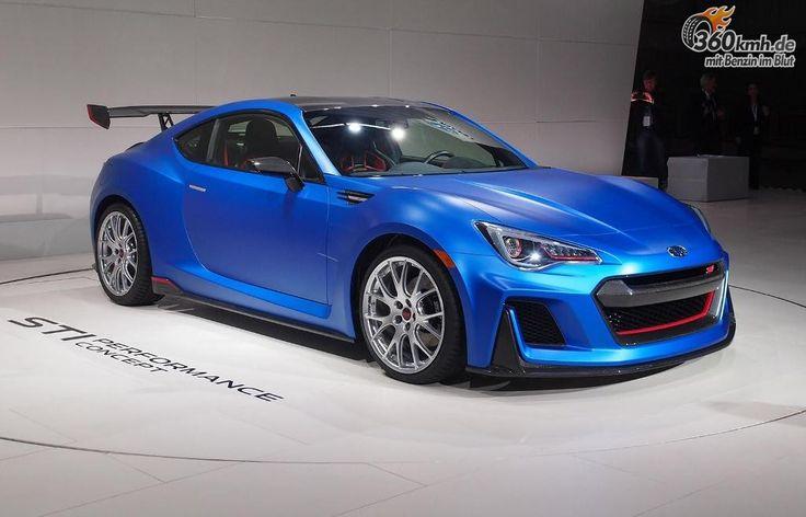 Subaru BRZ STI Performance Concept - Etwas besser
