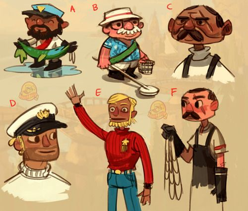 A Gallery Of Concept Art From Doublefine's Broken Age