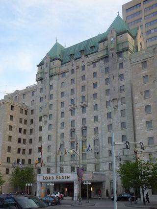 The Lord Elgin Hotel in Ottawa, Canada