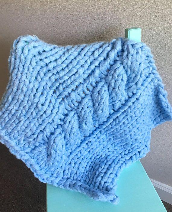 Best 25+ Beginner knitting blanket ideas on Pinterest