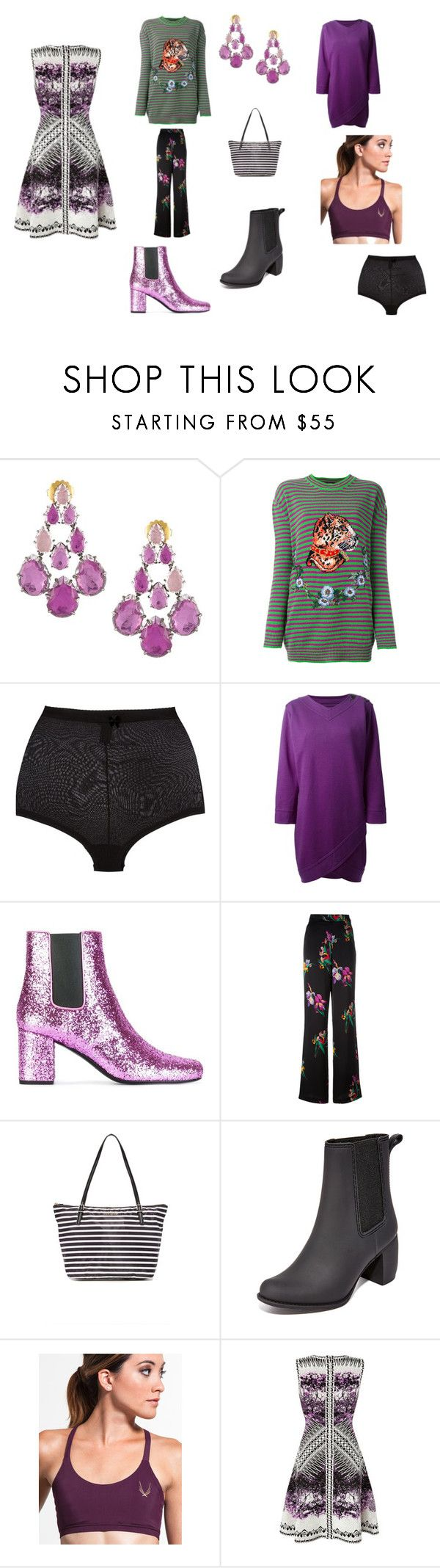 """one day sale"" by emmamegan-5678 ❤ liked on Polyvore featuring Gucci, Dsquared2, Yves Saint Laurent, Etro, Kate Spade, Jeffrey Campbell, Lucas Hugh, Hervé Léger and vintage"