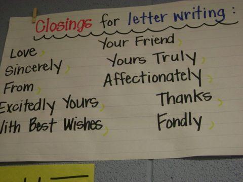 122 best Letter writing images on Pinterest School, Handwriting - best of english letter writing format informal