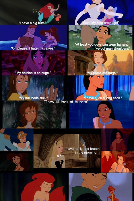 Disney princesses mocking Mean Girls. LOL! love means girls and* Disney 2 in 1 funny ha.