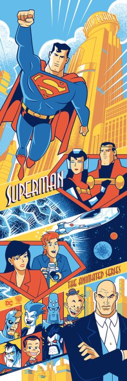 Superman The Animated Series - Scott Derby
