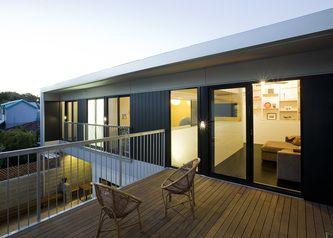 Terrace Space White Street House, North Fremantle   Philip Stejskal Architecture