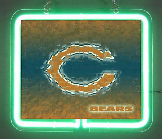 Chicago Bears Alternate Cool Neon Light Sign | Neon light