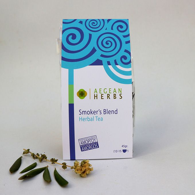 Smoker's Blend Herbal Tea, 45 gr. (12-15 cups)  You know that smoking is bad for you and the sooner you quit the better but in the meantime give your body some TLC with our Smoker's Tea Blend. A herbal...