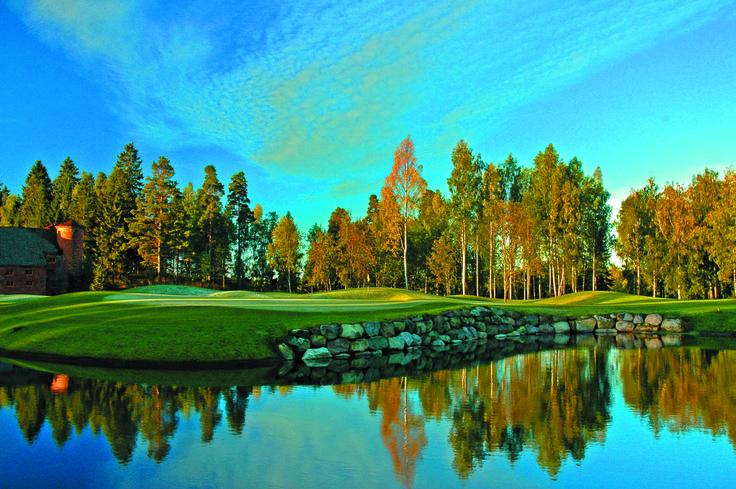 9th #linnagolf #vanajanlinna #golf