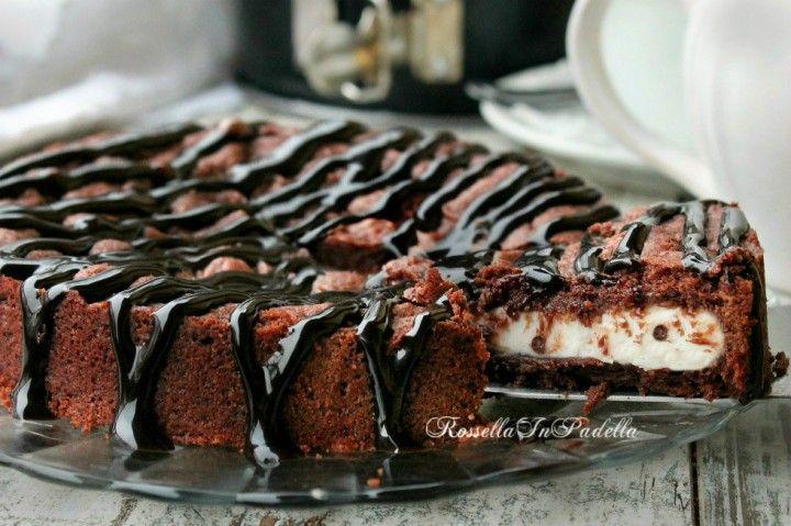 Torta nuvola nera al cacao e ricotta