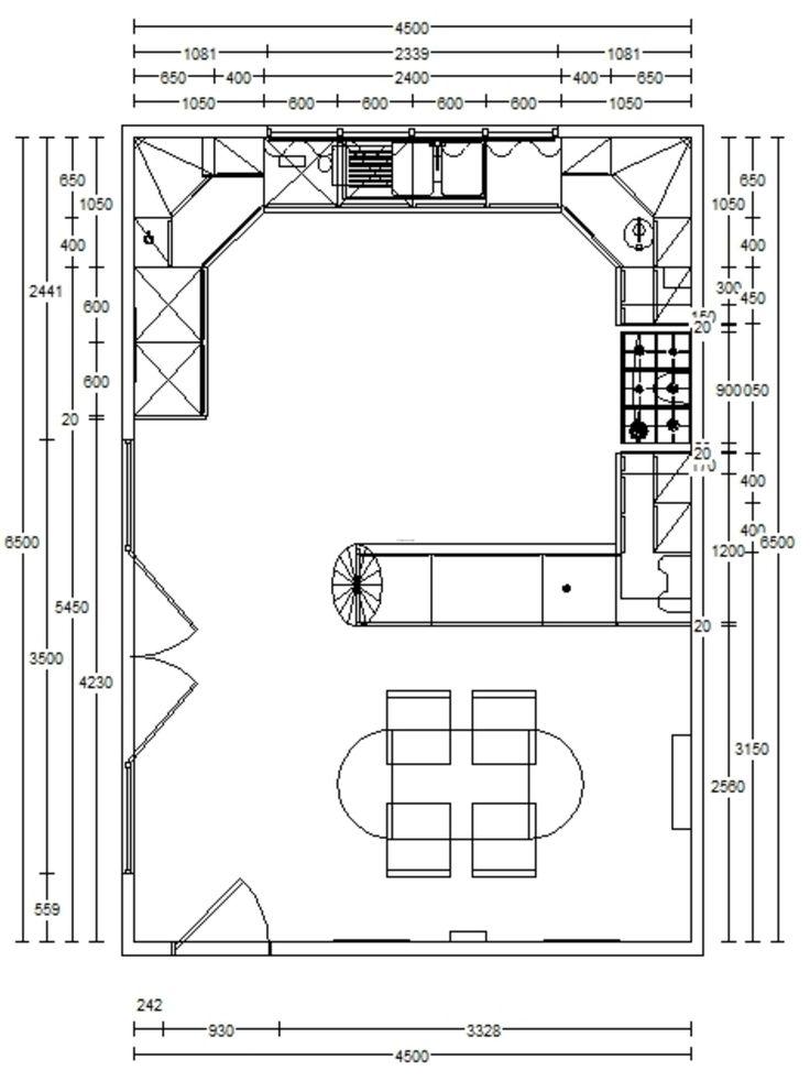 Small Kitchen Remodel Floor Plans