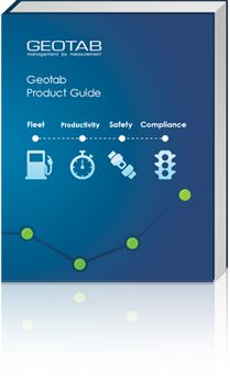 Geotab Telematics Product Guide For GPS Fleet Management Technology on guide.geotab.com