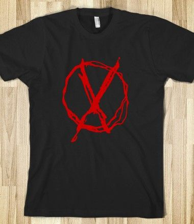 creepypasta merchandise | ... : Red operator symbol associated with slenderman and creepypasta