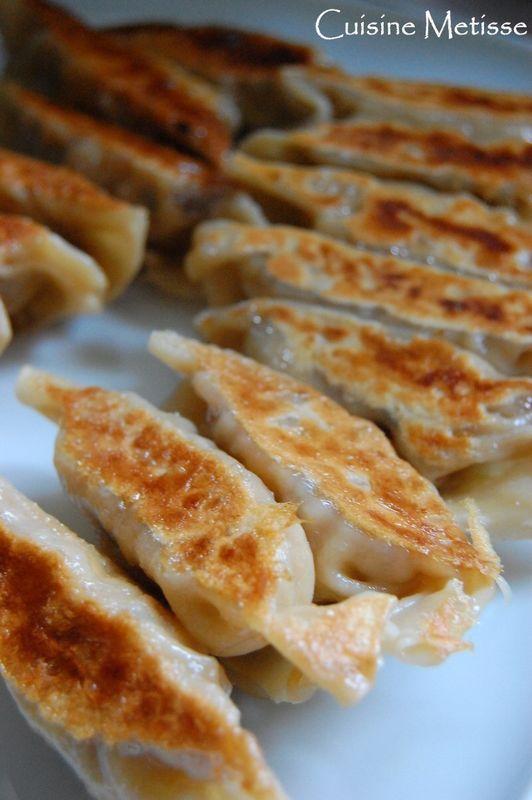 Gyôza - ravioli grillés japonais