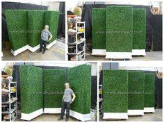 PermaLeaf® Boxwood Hedge Wall Privacy Screen