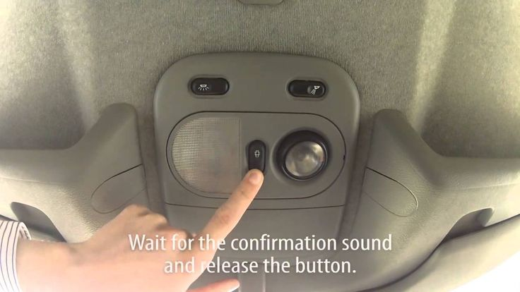 How to activate auto-locking central lock in Renault Master II (anti hijack)