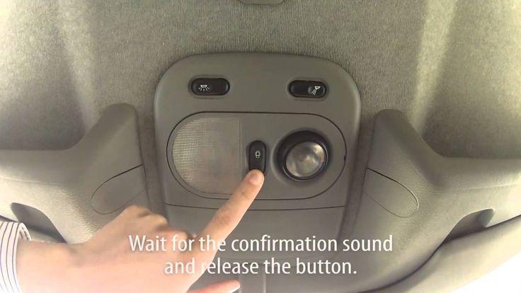 How To Activate Auto Locking Central Lock In Renault Master Ii Anti Hijack Renault Master Renault Fujifilm Instax Mini