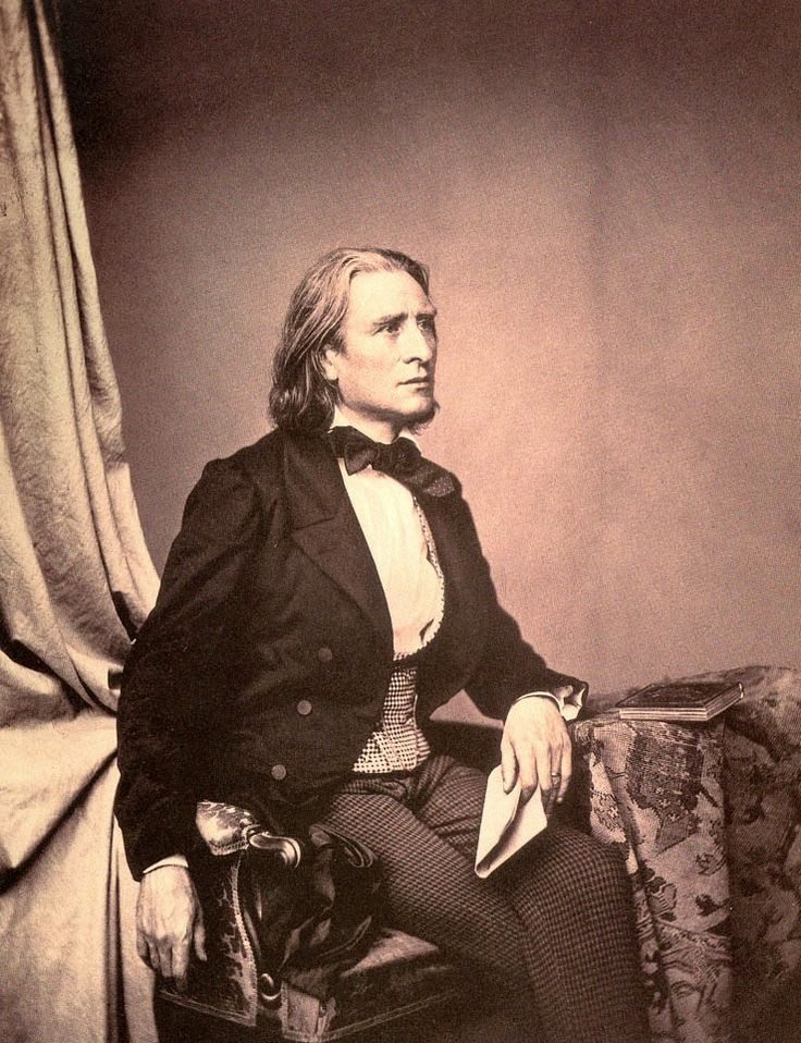 Franz Liszt 1858 - Franz Liszt - Wikipedia, the free encyclopedia