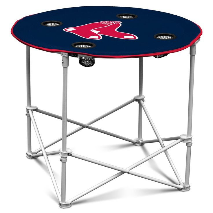 Boston Red Sox Round Tailgate Table