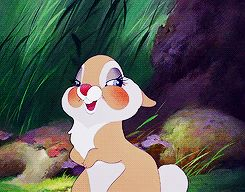 Dreams are Forever-girl bunny from Bambi gif