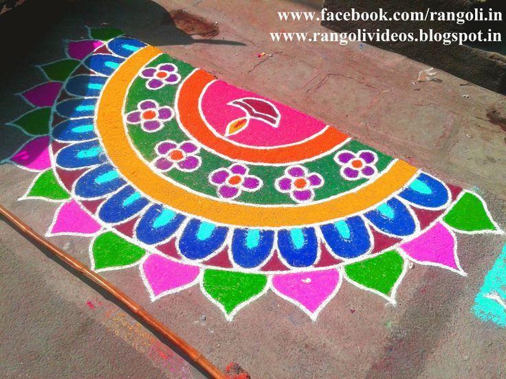 rangoli for diwali - Google Search