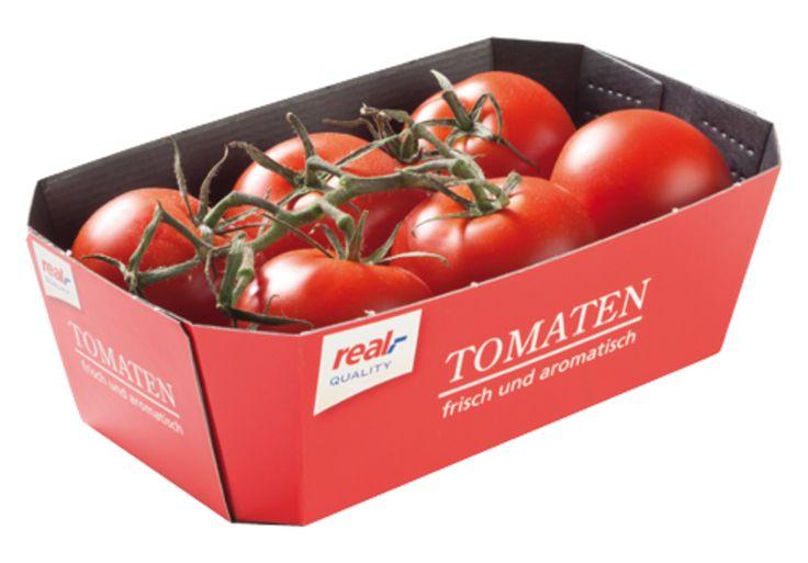 """#Gemüseschale • #Schale für direkten Lebensmittelkontakt. • """"Fruit Protector"""" ohne optische Aufheller • Frischfaserpapier auf der Innenseite • Verwendung #Low-Migration Farben und Lacke • #T4P, #Lebensmittelverpackungen"""