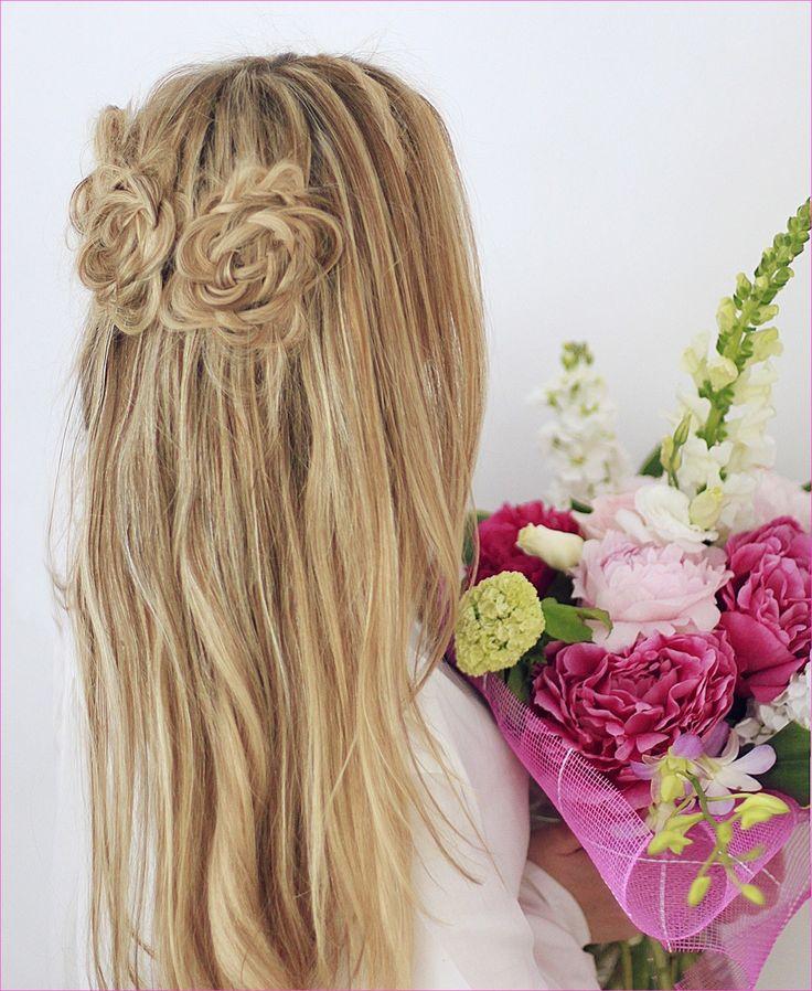 Flower Braid Frisuren für teenager