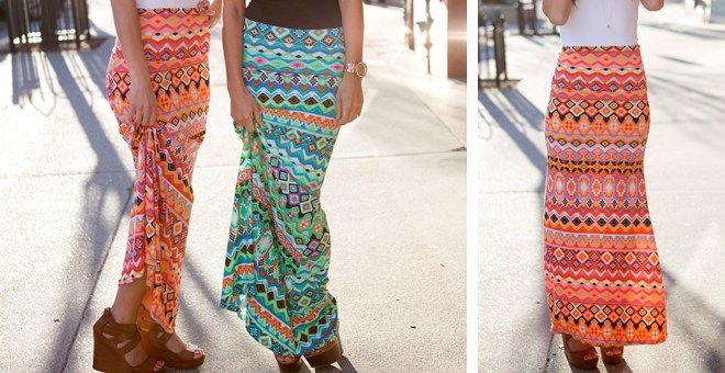 FLASH SALE on ****www.jane.com 19.99!!******  Size: S-XL Green, coral, fashion, outfit, summer, spring, aztec, veryjane, Jane, skirt, maxi skirt, ood, dailydeals, dailydeal