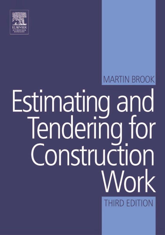 Estimating book free download. Tendering book free download
