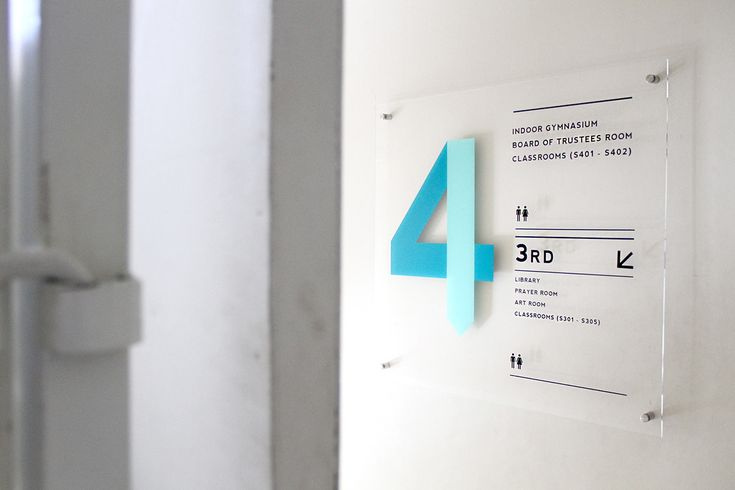 Masa Depan Cerah School - Wayfinding on Behance
