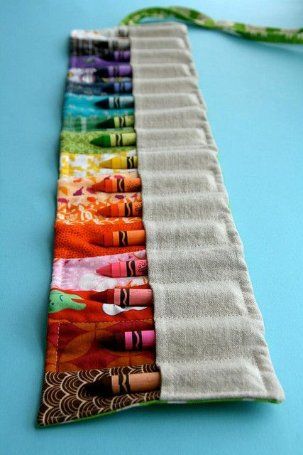Pencil roll from Last Minute Patchwork & Quilted Gifts: want to make a roll for double-pointed knitting needles