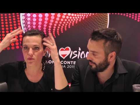 Reporting from Vienna: ESCNationTV talks to Marta & Václav Bárta from the Czech Republic - YouTube Hope Never Dies