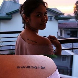 """Pride and Prejudice by Jane Austen -- """"We are all fools in love."""" 