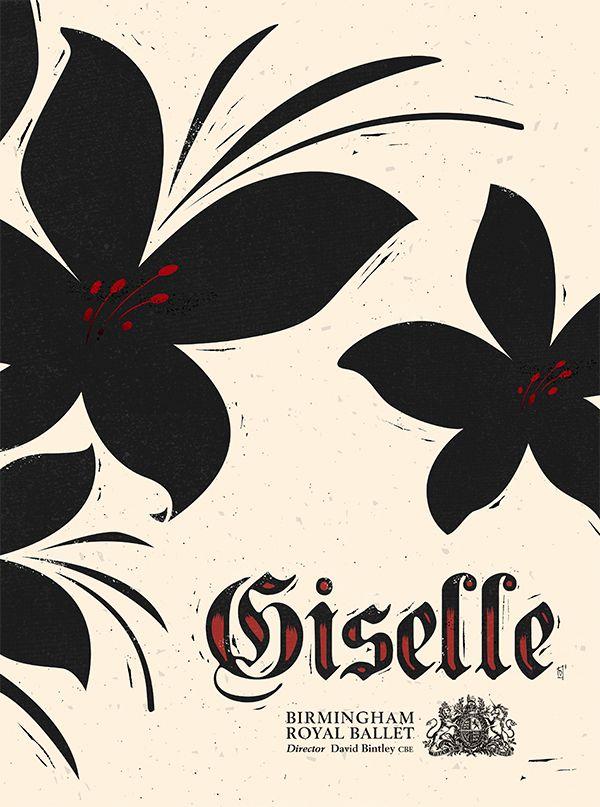 Giselle. on Behance