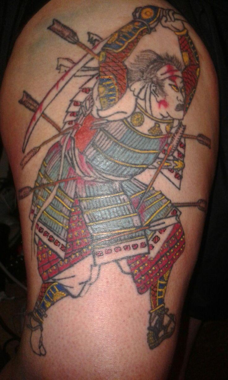 Kuniyoshi design samurai tattoo '14